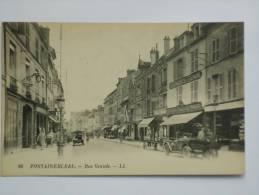 FONTAINEBLEAU ( 77 ) RUE GRANDE  CPA  96 - Fontainebleau