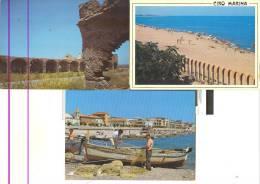 KR002 - Lotto Di 3 Cartoline Di Cirò Marina - Italia