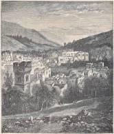 PALESTINE. Nablous. 1892 - Vieux Papiers