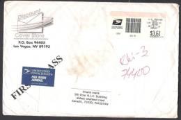 ATM Frama Label On Postal History Big Cover From USA 1--10-2010 - ATM - Frama (viñetas)