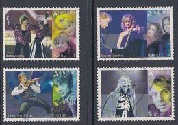 Norway ~ 2010 ~  Eurovision Song Contest Performers ~ SG 1753-1756 ~ Used - Used Stamps