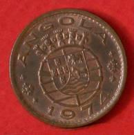 ANGOLA  1  ESCUDOS  1974   KM# 76  -    (M1102) - Angola