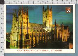 R7361 CANTERBURY CATHEDRAL BY NIGHT - Canterbury