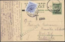 CROATIA - HRVATSKA  - NDH  -to UNGARN + PORTO - 1941 - RARE - Kroatien