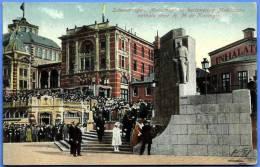 SCHEVENINGEN, MONUMENT TER HERRINERING MOBILISATIE ONTHULA DOOR H.M. DE KONINGIN - Scheveningen