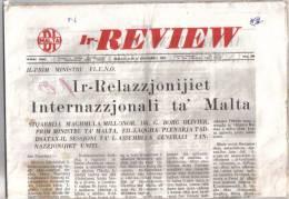 MALTA - ( IR - REVIEW ) FULL NEWS PAPER / 16 DICEMBER 1964 / - Revues & Journaux