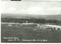 PASSO CORESE (RI): SCUOLA VV. FF. - DISTACCAMENTO A Km. 35,5 DA ROMA - B/N VIAGGIATA 1967,TIMBRO MESS.ROMA MILANO TR  5 - Rieti
