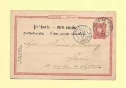 Munster - 30 Mai 1888 - Paris Etranger - 1877-1920: Periodo Semi Moderno