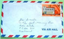 St. Christopher Nevis Anguilla 1975 Cover To Montserrat - Building ECCA - West Indies