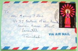 St. Christopher Nevis Anguilla 1978 Cover To Trinidad - Christmas - West Indies