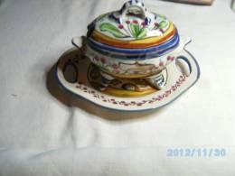 Soupière Dinette En Porcelaine Du Portugal- Rare - Céramiques