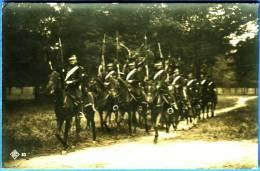 KAVALLERIE, OFFIZIELLE AUSGABE DES FESTZUGS-COMITE - Regimente