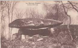 Dép. 58 - Le Morvan Illustré. - Dolmen Chevresse. Vve G. Gervais, Saulieu. - Cosne Cours Sur Loire