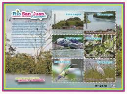 Nicaragua Flora & Fauna Rio San Juan MNH 2012 NEW - Nicaragua