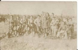 12 - AVEYRON - LARZAC - Le Camp - Carte Photo De Militaires - Francia