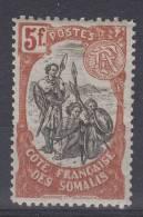 Cote Des Somalis: Yvert  Nr 66  , MH/* CV Maury € 35 - French Somali Coast (1894-1967)