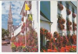 SAINT GILLES VIEUX MARCHE 22 - Lot De  2 Jolie CPSM : Hotel Des Touristes NEVO LE BIHAN -  Côtes D'Armor - Saint-Gilles-Vieux-Marché