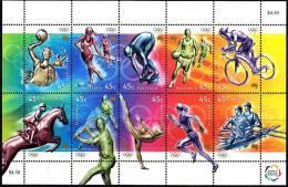 Australia 2000 Olympics Minisheet Mint Never Hinged - Mint Stamps