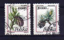 Poland - 1993 - Pine Cones - Used - 1944-.... République