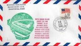 ★ US - MISSION 61C - WESTERN TEST RANGE VANDENBERG (7422) - United States