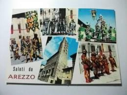 Costumi Saluti Da Arezzo Armigeri Del Comune Giostra Del Saracino - Costumes