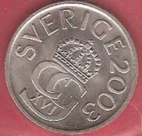 SWEDEN  #5 KRONER FROM YEAR 2003 - Suède