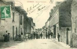 N°27238 -cpa Chambois -rue De Vimoutiers- - France
