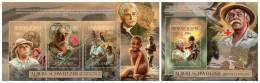 GUINEA 2012 - Albert Schweitzer, Nobel Prize. M/S + S/S. Official Issue - Ohne Zuordnung