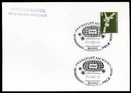 86170) BRD - SoST-Beleg - 6000 FRANKFURT 1 Vom 21.4.1982 - Internationale Pelz-Messe - [7] République Fédérale
