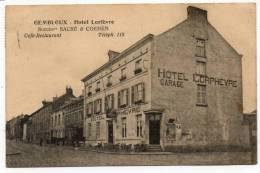 22637  -   Gembloux  Hôtel Lorfèvre - Gembloux