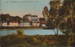 France-Carte Postale -Amboise-Le Chateau Vu De L'Ile,nouveaux-2/scans - Amboise