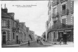 NANTES  Rue Charles Monselet Vers Le Route De Vannes - Nantes