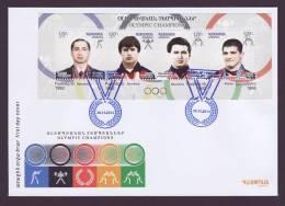 Armenia 2012, ARMENIAN OLYMPIC CHAMPIONS  - FDC - Armenia