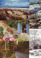 FRANCE LOT DE 100 Cartes Postales Modernes Régions Françaises, Cf Scans: Montagnes, Mer, Paysage, Campagne, Maison, - Cartes Postales