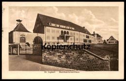 ALTE POSTKARTE ST. INGBERT BEZIRKSKRANKENHAUS Krankenhaus Hospital Cpa Postcard AK Ansichtskarte - Saarpfalz-Kreis