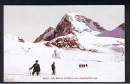 RB 903 - Early Switzerland Postcard -  Der Monch Vom Jungfraufirn Aus - Climbing Mountaineering Alpism Theme - Climbing