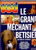 VSD 738 Mineurs Bucarest Schwartzenberg Le Pen Liz Taylor Nazis Alain Delon - Gente