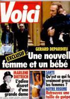 Voici 236 Depardieu Ivana Trump Patrick Dewaere Marlène Dietrich (un Carré Découpé) - Gente