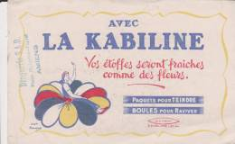Buvard La Kabiline Tampon Droguerie SAD Amiens - Buvards, Protège-cahiers Illustrés