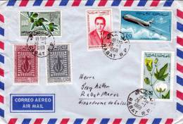 Marokko 1968, Schöne 6 Fach MiF - Marokko (1956-...)