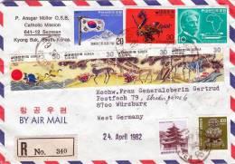 RECO SOUTH-KOREA, SÜDKOREA 1982, 20 Fach MiF - Korea (Süd-)