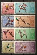 Togo 1966 N° 505 / 10 + PA 61 / 2 ** Sport, Football, Coupe Du Monde, Ballon, Equipe D´Angleterre, Gardien, Tacle - Togo (1960-...)