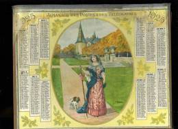 Calendrier 1925 Double Cartonnage Illustré Par A.Beuzon, 56 Pages - Calendars