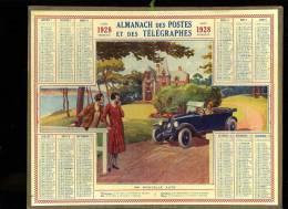 Calendrier 1928 Ma Nouvelle Auto - Calendriers