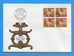 Suisse, Switzerland, Schweiz, FDC,1975, Dauerm. Ergänzungswert - FDC