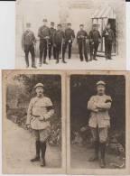 Carte Photo Provenant D'un Album Intitulé.5 Escadron Train Fontainebleau.derniers Lots - Guerre 1914-18