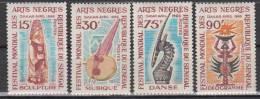 SENEGAL     1966     N°  275/278     COTE   5.00   EUROS     (1149 ) - Senegal (1960-...)