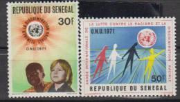 SENEGAL     1971     N°  345/346     COTE   2.25      EUROS     (1152 ) - Senegal (1960-...)