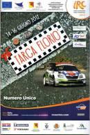 C TARGA FLORIO 2012 INTERCONTINENTAL RALLY CHALLENGE PROGRAMMA NUMERO UNICO - Programmi