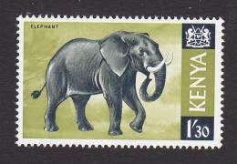 Kenya, Scott #30, Mint Never Hinged, Animals, Issued 1966 - Kenya (1963-...)